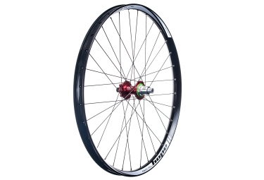 roue arriere hope tech 35w pro 4 27 5 boost 12x148mm corps sram xd rouge
