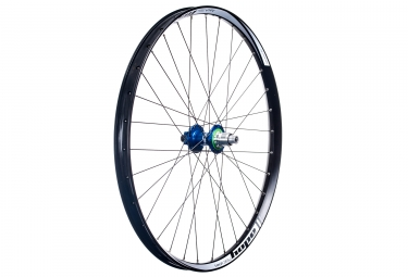 Roue arriere hope tech 35w pro 4 27 5 boost 12x148mm corps sram xd bleu