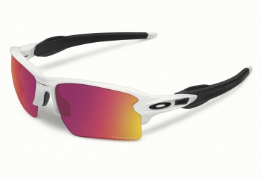 lunettes oakley flak 2 0 xl blanc prizm field ref oo9188 03