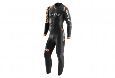 combinaison neoprene orca 3 8 noir orange xl