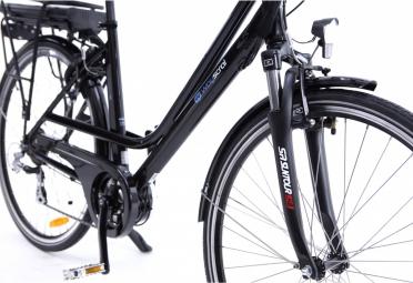 Vélo de Ville Électrique Wayscral Classy 615/36V 13.2Ah Shimano Altus 7V Noir 2017