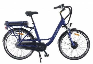 Vélo de Ville Électrique Wayscral City 520/36V 13.2Ah Shimano Nexus 7V Bleu 2017