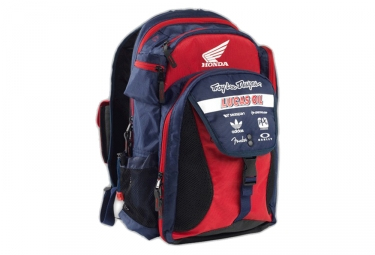 troy lee designs sac a dos ignition bleu rouge