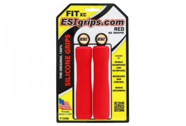 ESI Fit CR Grips - Red