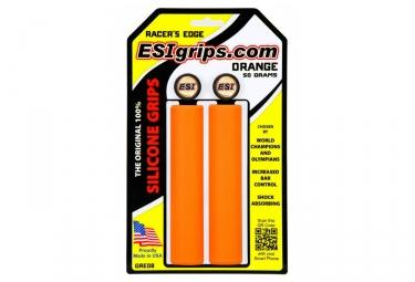 Paire de Grips Esi Racer's Orange