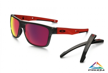 lunettes oakley crossrange noir prizm road ref oo9361 0557