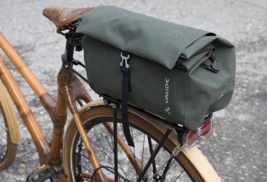 sacoche de porte bagage vaude comyou shopper vert