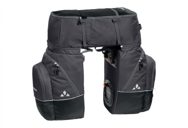 triple sacoches de porte bagage vaude karakorum noir