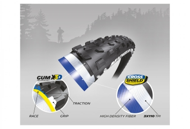 Pneu Michelin Force XC Competition Line 26'' Tubeless Ready Souple