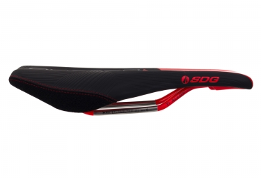 selle sdg duster mtn ti alloy noir rouge