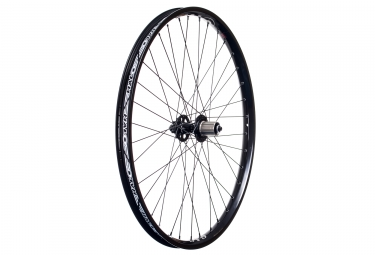 halo roue arriere 26 sas 6 drive spin doctor 36 rayons 9mm qr noir
