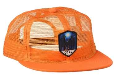 Casquette COAL THE ORIN Orange