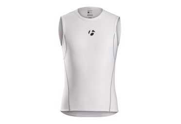 BaseLayer without sleeves Bontrager B1 White