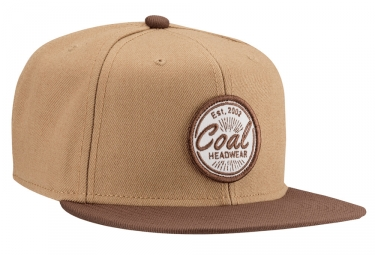 Casquette COAL THE CLASSIC Marron
