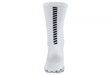 paire de chaussettes nike elite cushion crew blanc 38 40