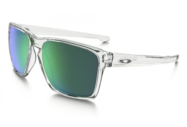 Paire de lunettes oakley sliver xl polished clear jade iridium ref oo9341 02