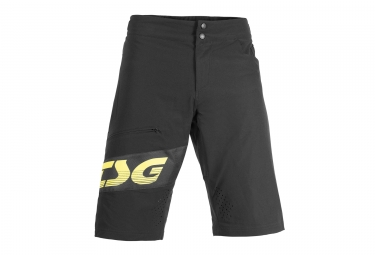 short tsg sp1 noir jaune 32
