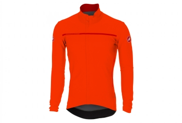 veste coupe vent castelli perfetto orange m