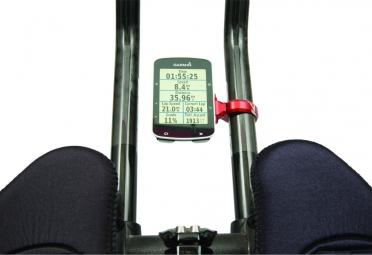 K-EDGE Sport TT Mount per Garmin Computers Rosso