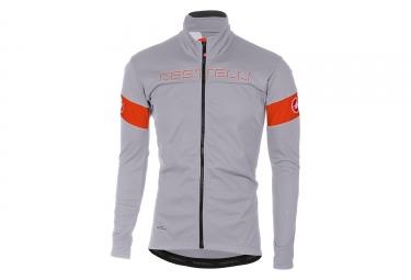 Veste castelli transition gris orange 3xl