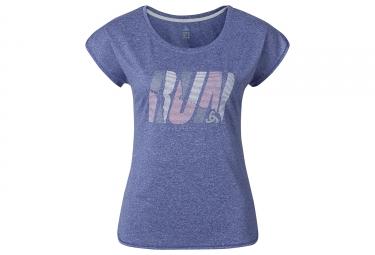 T shirt manches courtes femme odlo 2017 tebe violet m