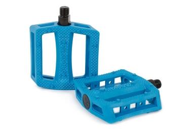 pedales plastique shadow ravager bleu