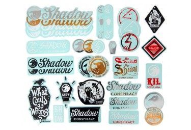 pack de stickers shadow