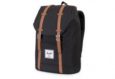 Sac à Dos HERSCHEL Retreat Backpack 19.5L Noir Cuir Synthétique