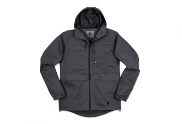 Chrome Skyline Windcheater Waterproof Jacket Grey