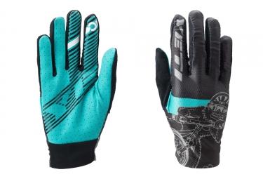 gants longs yeti enduro noir bleu l