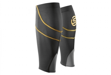 Skins Compression Sleeves Essentials Black Yellow