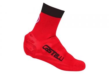 Couvre chaussures castelli 2017 belgian bootie 5 rouge noir 37 39