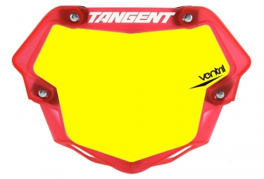 Plaque Tangent Ventril 3D Pro Jaune Rouge Transparent