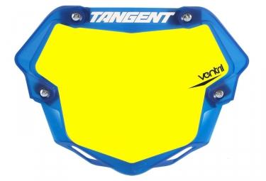 Plaque Tangent Ventril 3D Pro Jaune Bleu Transparent