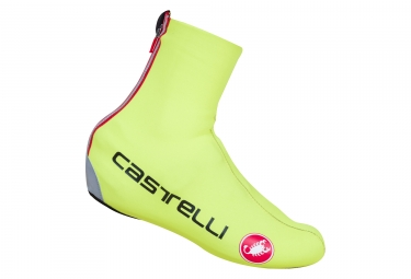 CASTELLI 2017 DILUVIO C 16 Shoe Covers Yellow Fluo
