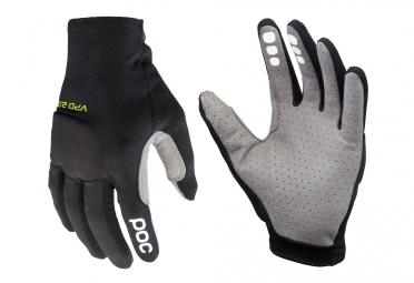 paire de gants longs poc resistance pro enduro noir l
