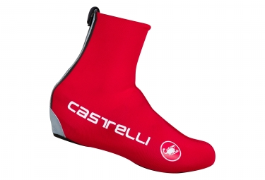 image couvre chaussures castelli 2017 diluvio c 16 rouge 36 40