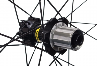 "Rear MTB Wheel MAVIC 2017 Crossride Tubeless WTS 29"" - Axle 12x142 - Shimano/Sram - Quest 2.10"