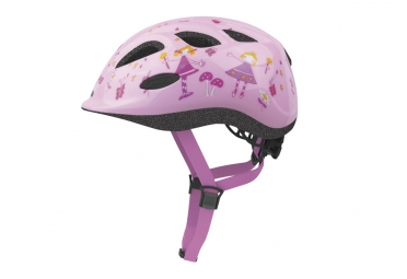 Abus Smiley 2.0 Pink Princess Kids Helmet