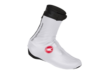 castelli 2017 pioggia 3 shoe covers white 43 44