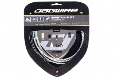 Jagwire Mountain Elite Link 2017 Braking kit Silver