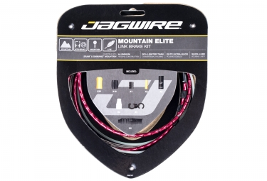Jagwire Mountain Elite Link 2017 Braking kit Red