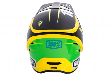 Casco Integral 100% Status D-Day Jaune