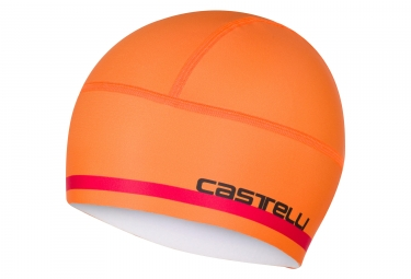 Sous casque castelli 2017 arrivo 2 thermo orange