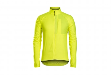 Giacca a vento BONTRAGER Circuit Windshell Yellow Fluo