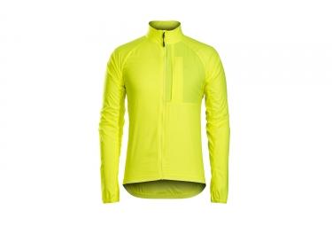 veste coupe vent bontrager circuit windshell jaune xl
