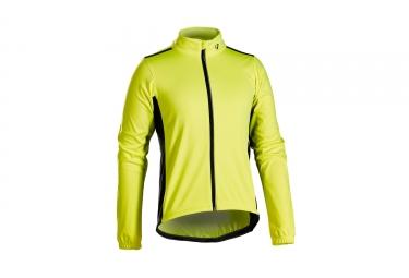 Thermojacke Bontrager Starvos S1 Softshell Jacke Neongelb