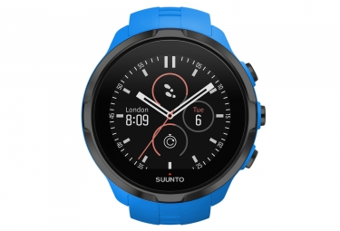 suunto montre gps spartan sport wrist hr bleu cardio integre
