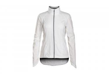 Women Windproof Jacket BONTRAGER 2017 Vella Windshell White