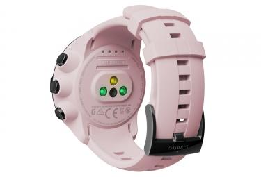 suunto montre gps spartan sport wrist hr rose cardio integre